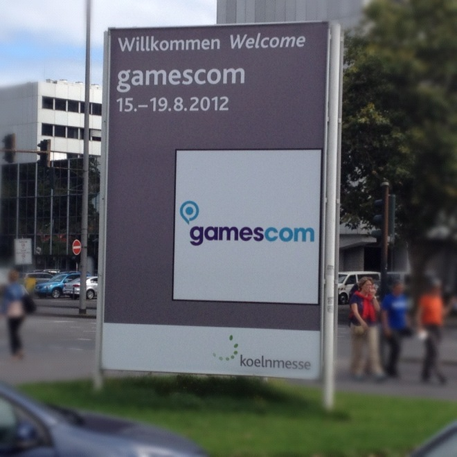 We'll be at Gamescom Cologne 2012