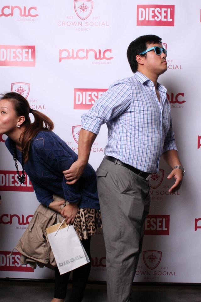 CROWN SOCIAL x DIESEL x PICNIC MAGAZINE PARTY PHOTOS (another crazy photo!!)