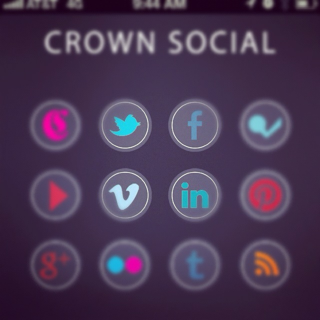 Crown Social Mobile Site