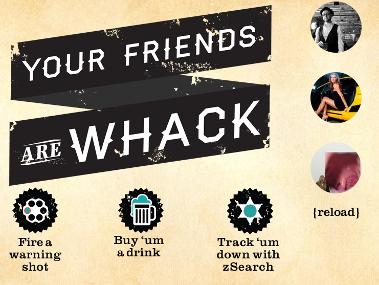 New app: Your Friends Are Whack
