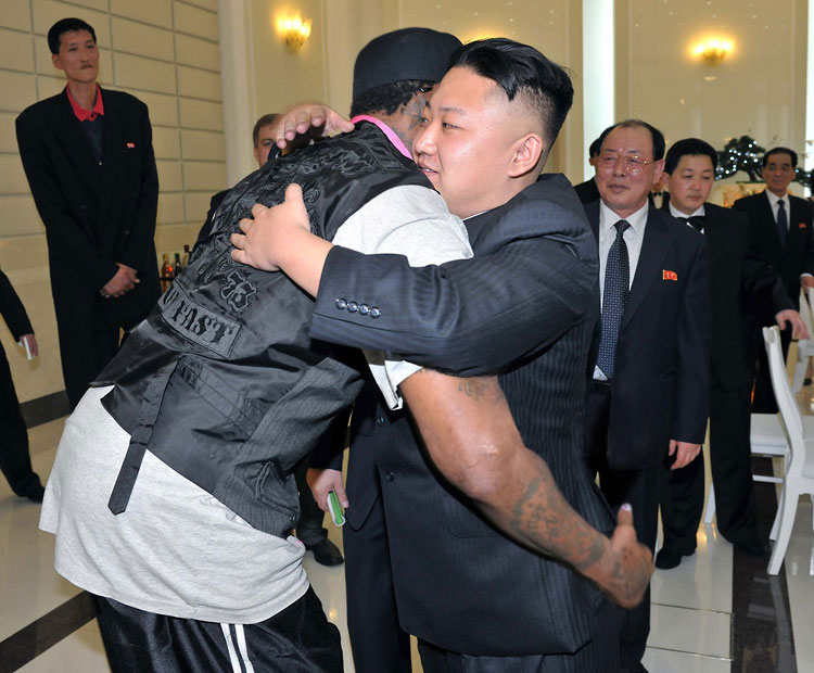Looks like Dennis Rodman had a bit too much fun in North Korea