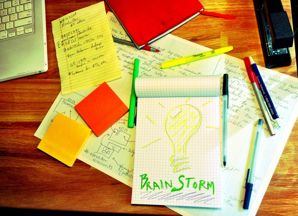 10 Brainstorming Tips for Solid Gold Ideas